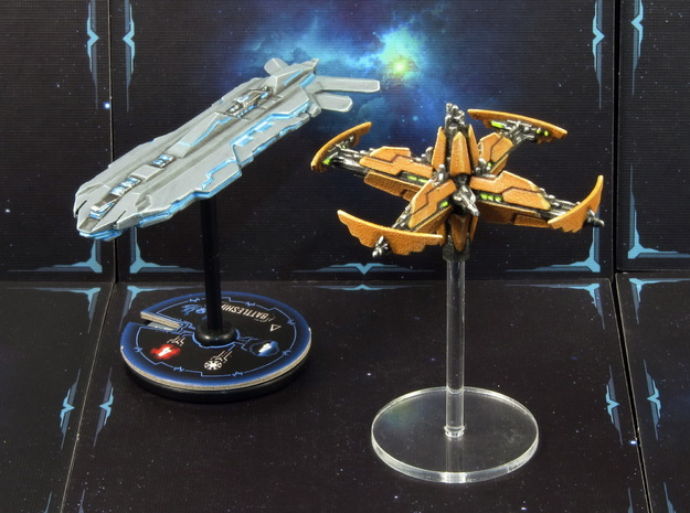 Space station (1-2 pcs) - Fleet Commander