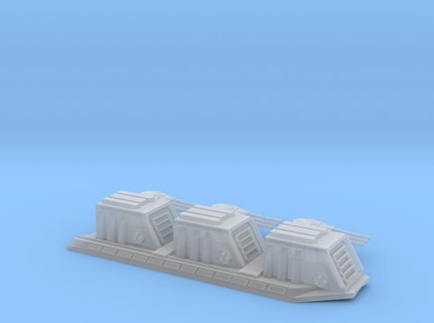 2700 Devastator dorsal turrets split in Frosted Ultra Detail