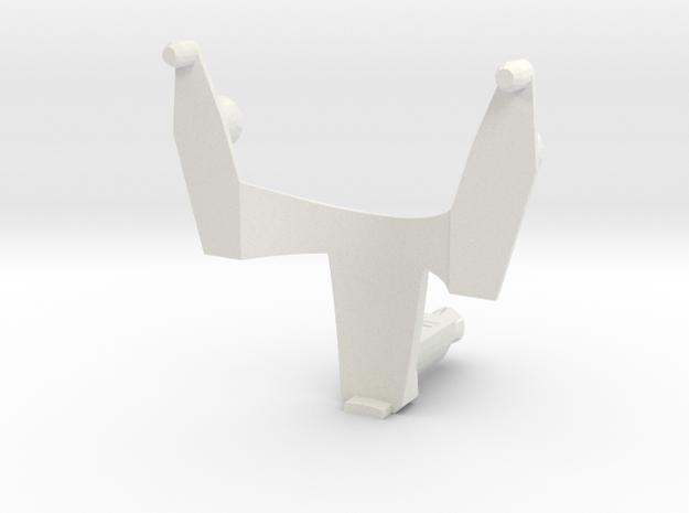 VF-25 Renewal Fold Booster Adapter, Super Pack Ver in White Natural Versatile Plastic