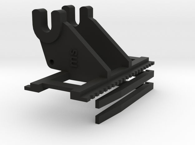 Palletvorken cat 336 in Black Natural Versatile Plastic