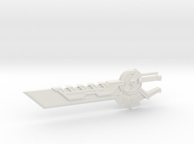 Volcanicus Sword in White Natural Versatile Plastic