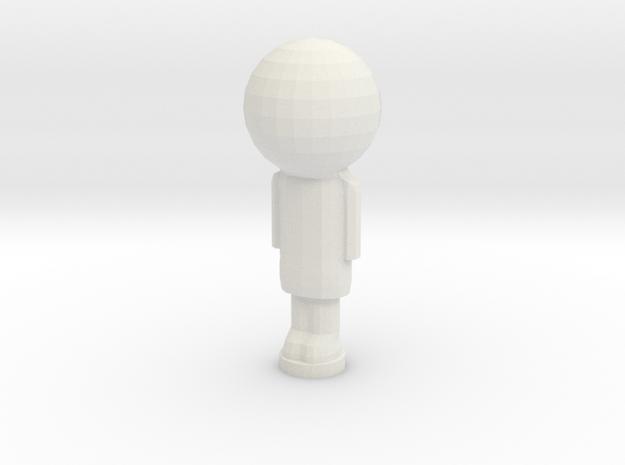 Peg Doll in White Natural Versatile Plastic