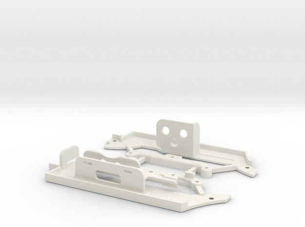SUR-CHASSIS-GLA- ESC RADON in White Natural Versatile Plastic