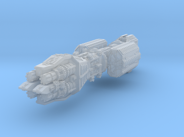 Earth Alliance Callisto Light Cruiser 74mm in Smooth Fine Detail Plastic