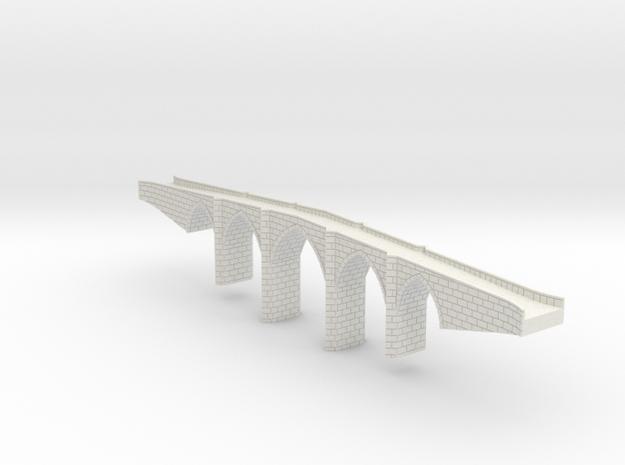 Bridge_1:350 in White Natural Versatile Plastic
