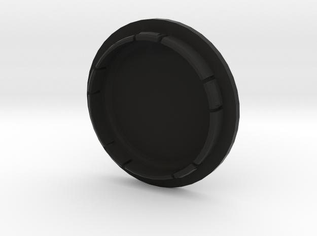 VW_FELGENDECKEL_2 indiv. bis 5 Zeichen beschreibar in Black Natural Versatile Plastic