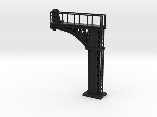 Cantilever Signal - N 160:1 Scale in Black Natural Versatile Plastic