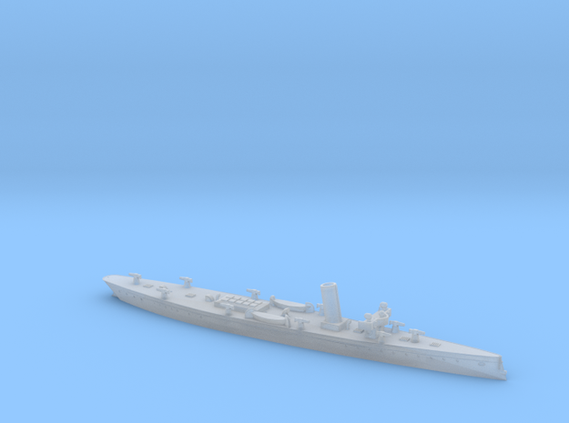 SMS Meteor 1/1250 (without mast) in Smooth Fine Detail Plastic