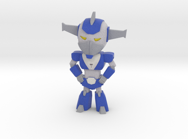 Cartoon style mecha in Full Color Sandstone