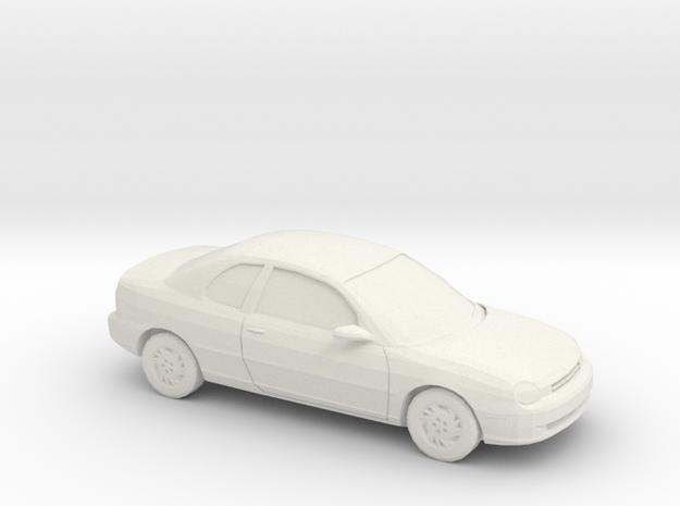 1/64 1995 Dodge Neon Coupe in White Natural Versatile Plastic