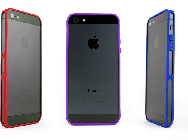 Brute for iPhone 5 - Thin but Tough in Purple Strong & Flexible Polished