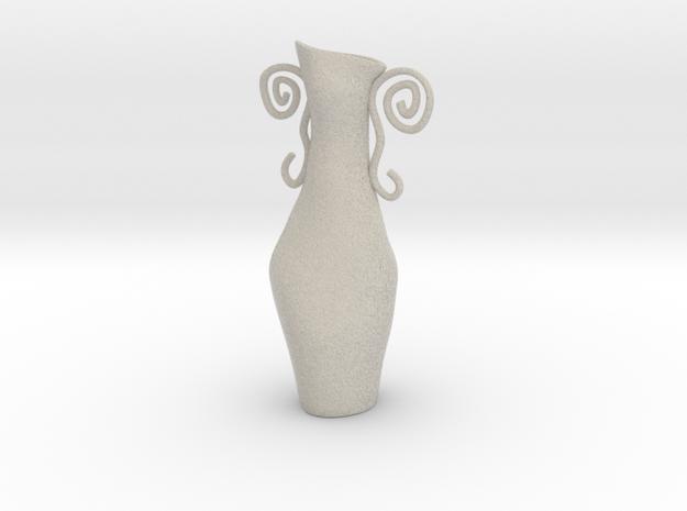 Surreal Vase in Natural Sandstone
