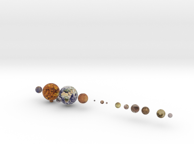 14 object set /alt 1:250 million in Full Color Sandstone