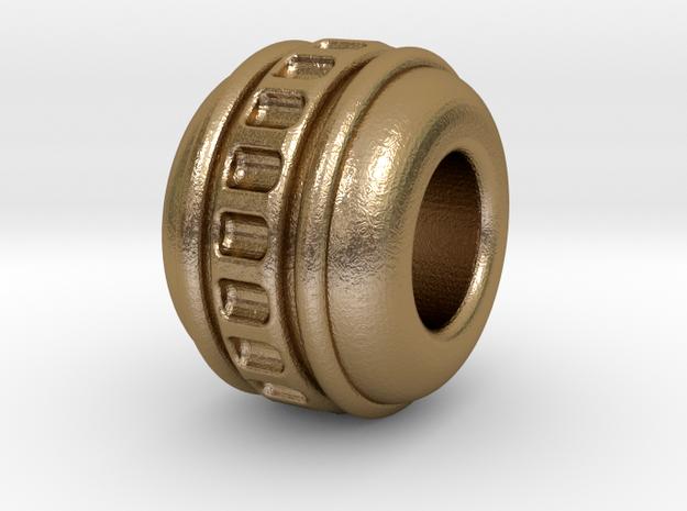 Together in Polished Gold Steel