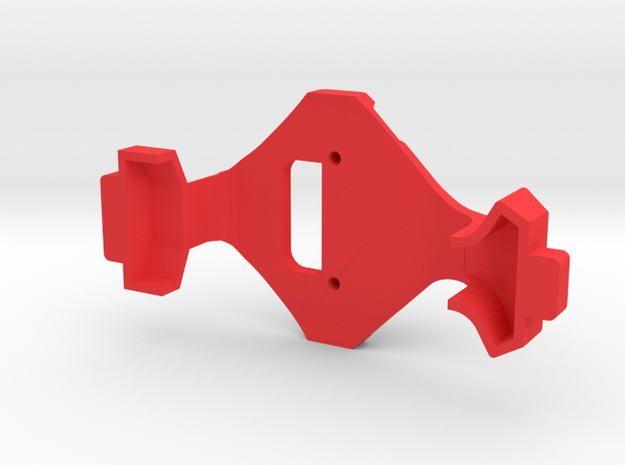 IMPRIMO - CF Version (Printable Canopy Type A) in Red Processed Versatile Plastic