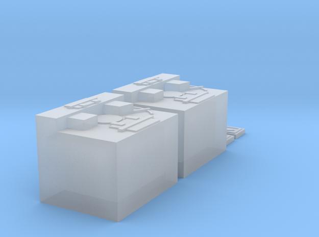 Charcoal Reefer Heating Box