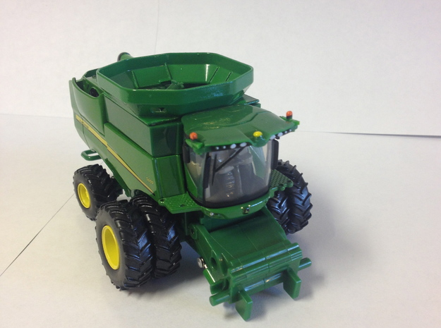 1: 64 S Scale John Deere S Series  Bin Extension 3d printed Extension shown on model