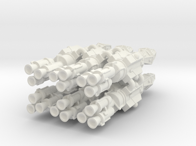 Frontier Frigate 6 Sprue in White Natural Versatile Plastic