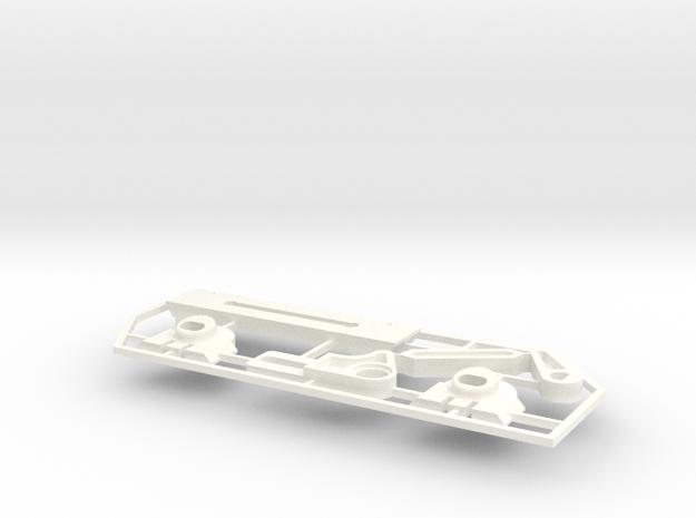 Lancia Delta rep. set VAR1 Instrument frame in White Processed Versatile Plastic