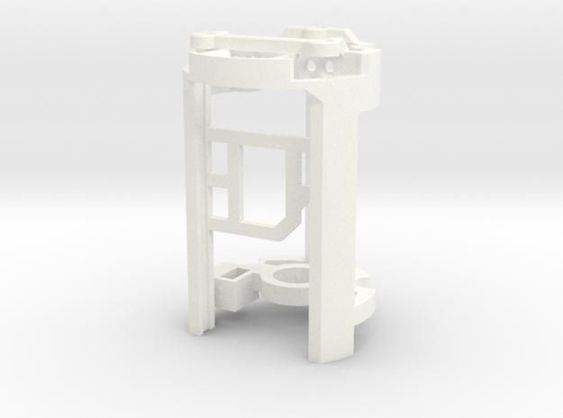 DV6 - Part (4/7) BoardHolder (Prizm V5.1) in White Processed Versatile Plastic