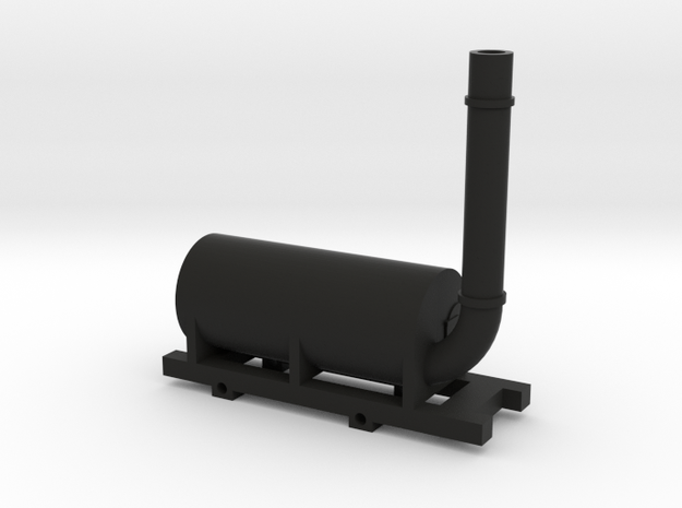 Brunton Horse-to-go-by-steam in Black Natural Versatile Plastic
