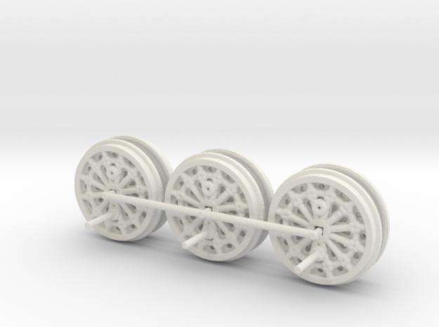 S&DR Derwent - Wheels (Steel & WSF)