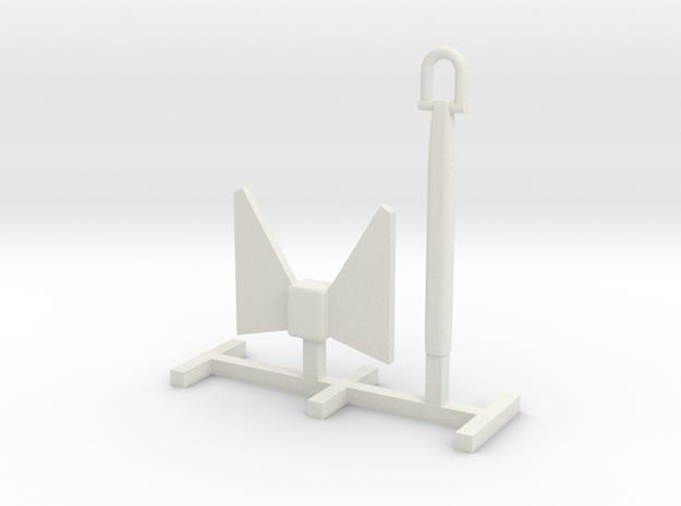 Tug 1606 Anchor 1:50 in White Natural Versatile Plastic
