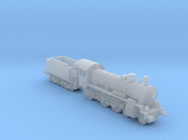 P8_Locomotive_1:285 in Smoothest Fine Detail Plastic