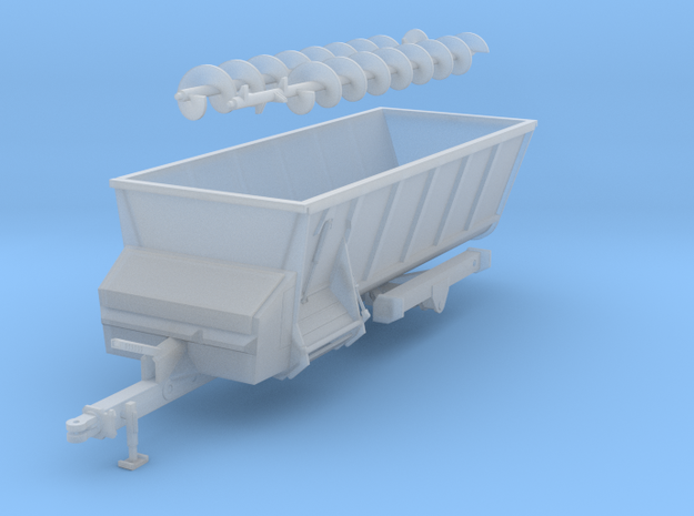 Grey side shooter spreader in Smooth Fine Detail Plastic