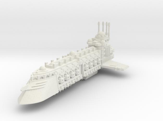 Crucero Comerciante Independiente A in White Natural Versatile Plastic