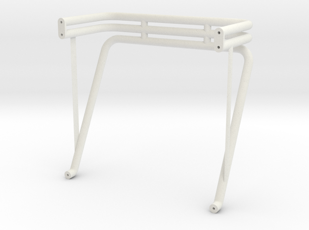 Virginia Giant roll bar - 84 Ford body in White Natural Versatile Plastic
