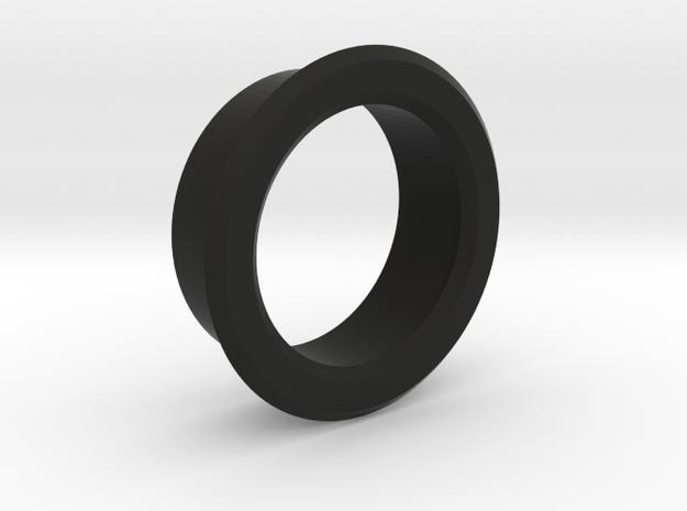 Bezel for potentiometer in Black Natural Versatile Plastic