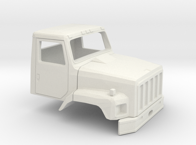 1/32 International S2600 Cab in White Natural Versatile Plastic
