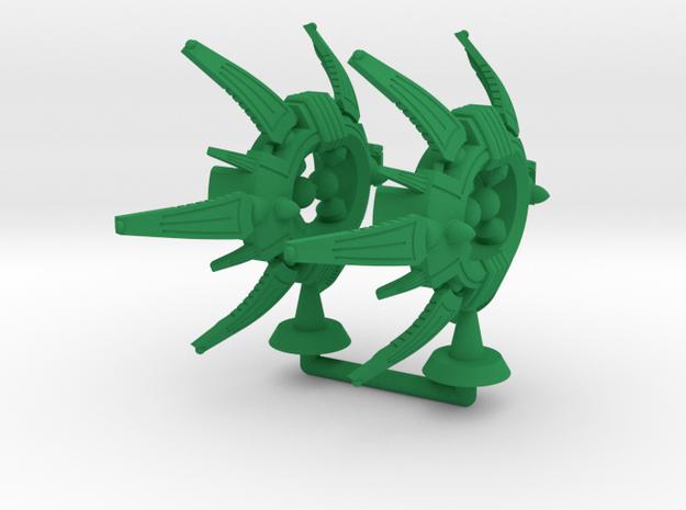 Baritone Class Heavy Battler - 1:20000 in Green Processed Versatile Plastic