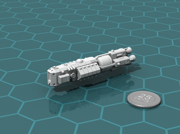 MCSF Battleship in White Strong & Flexible