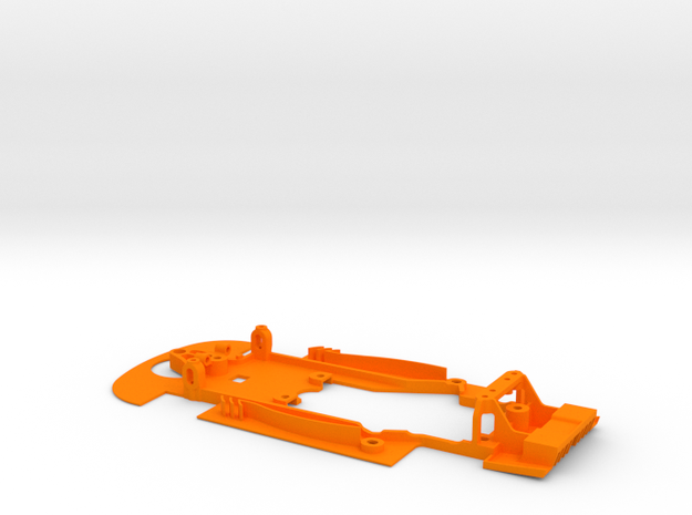 SC-9101e Chasis S7R evo for RT3 motor mount in Orange Strong & Flexible Polished