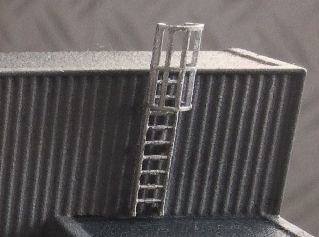 N Scale Cage Ladder 18mm (Top)
