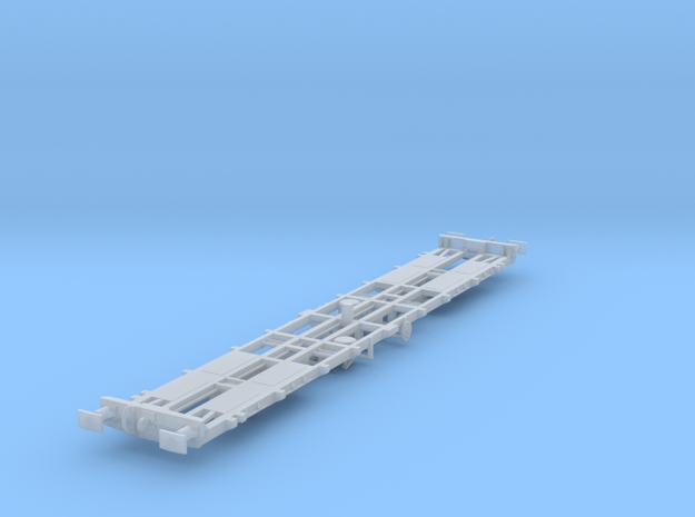 CIE 47ft LX Container Flat Wagon [C-2] in Smooth Fine Detail Plastic