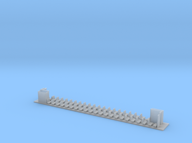 N Scale PRR P70 Replacement Interior for Lima Mode in Smooth Fine Detail Plastic