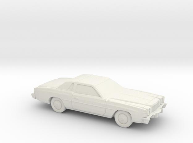1/87 1978-79 Chrysler Cordoba in White Natural Versatile Plastic