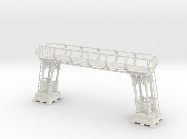 1:48 & 1:72 Scale Main Hanger Deck Repair Gantry in White Strong & Flexible: 1:48 - O