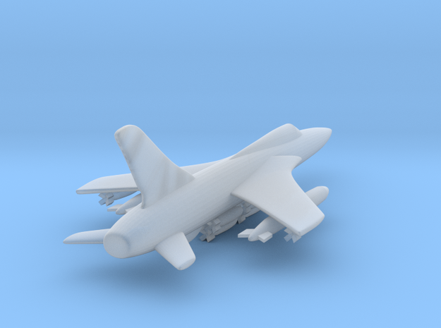 1:350 F-105D fighter bomber in Smooth Fine Detail Plastic