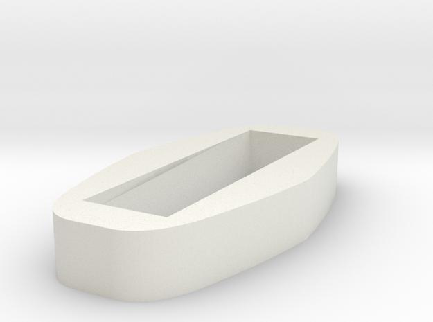 Dunvegan Viking Guard Ferrule Inset in White Natural Versatile Plastic
