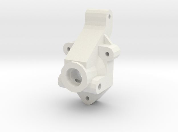 losi jrx2 and jrxT rear hub carrier in White Natural Versatile Plastic