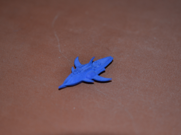 1/10 000 Chuyinka Carrier Dreadnought in Blue Processed Versatile Plastic