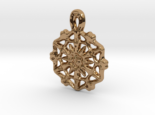 Captain's Pendant in Polished Brass