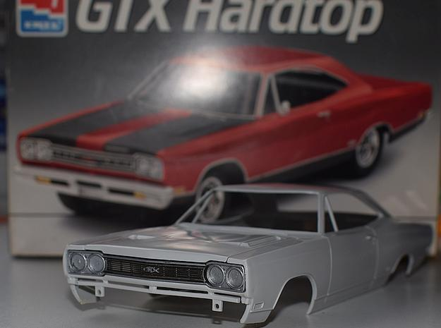 1/25 1968 Plymouth GTX Grill in Smoothest Fine Detail Plastic