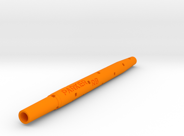 Adapter: Parker RB to Uni UMR-109 in Orange Processed Versatile Plastic