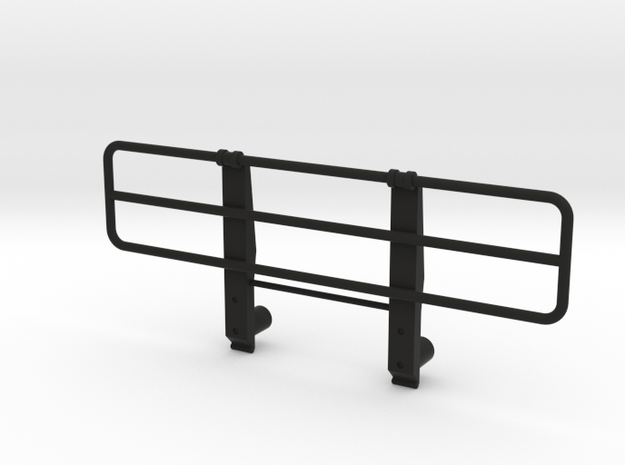 Bull bar Tamiya 1:14 Mercedes NG and SK 1838 / 185 in Black Natural Versatile Plastic