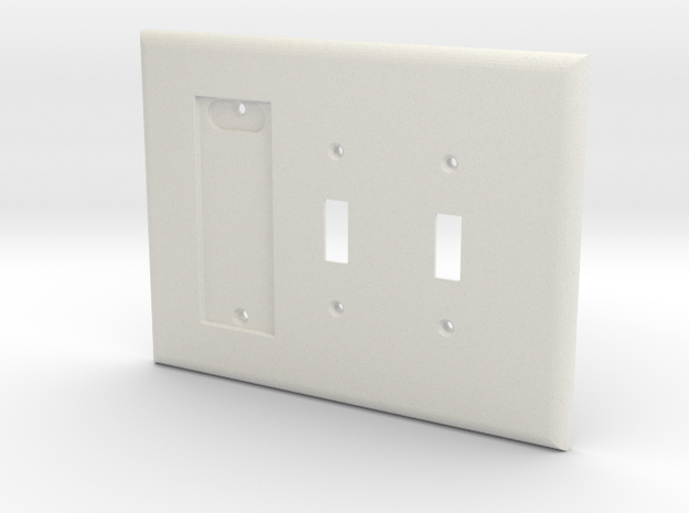 Philips Hue Dimmer 3 Gang Switch Plate L